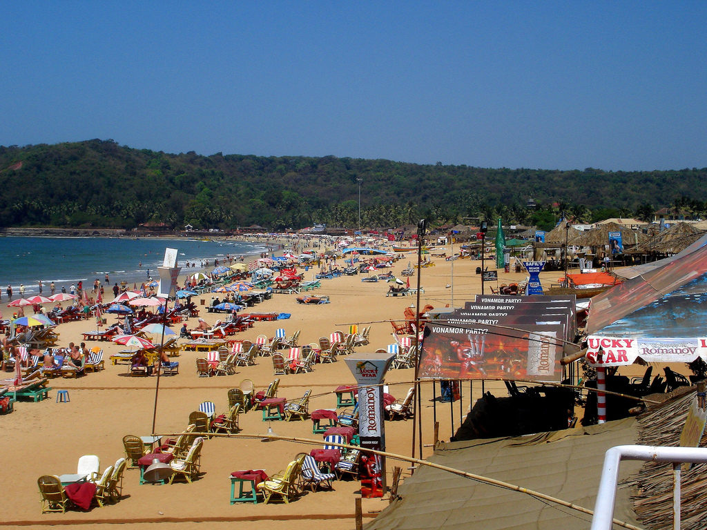 Baga India  city photos gallery : TOURIST PLACES AROUND THE WORLD: Top Ten Must Visit Beaches in Goa