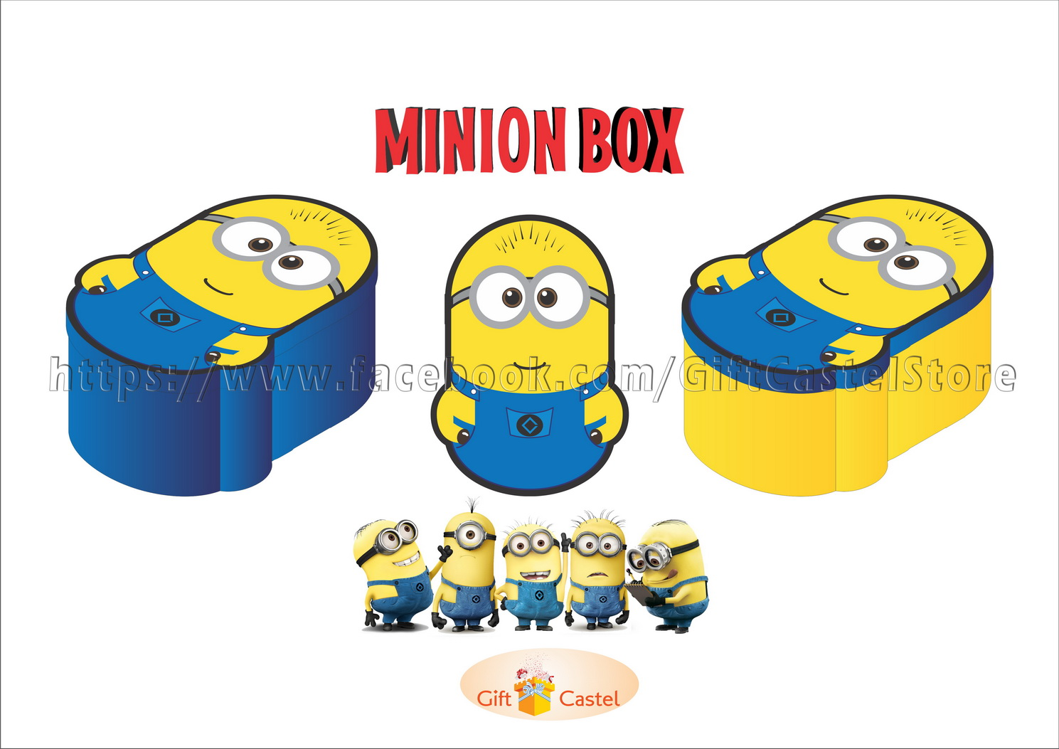 Box Karakter Minion (Despicable Me)