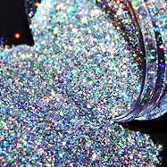 Put some glitter in your life!! It always make the world looks better;)