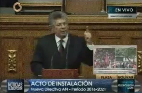 Venezuela | Discurso completo: Henry Ramos Allup, presidente de la Asamblea Nacional (AN) ☼  #AmigosPorCúcuta