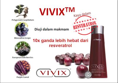 kandungan vivix shaklee