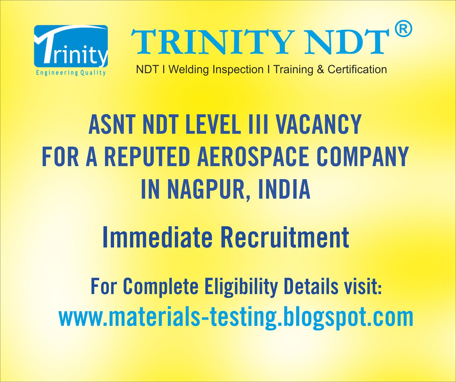 NABL NDT Labs, NDT Welding Inspection Training Chennai Mumbai Kerala ...
