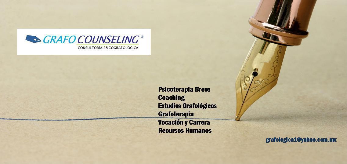 GRAFOCOUNSELING® - Servicios de Consultoría Psicografológica Aplicada