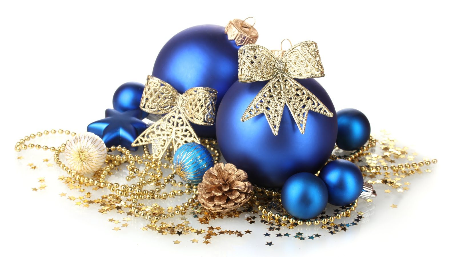 43b2e4a5f4c5e BANCO DE IMÁGENES  Disfruta este lindo fondo navideño con esferas azules