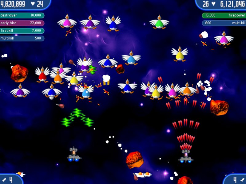 Chicken Invaders 1,2,3,4 Collection ScreenShot