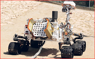 gambar, robot nasa, planet marikh, tiba, mendarat