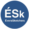 évora sketchers