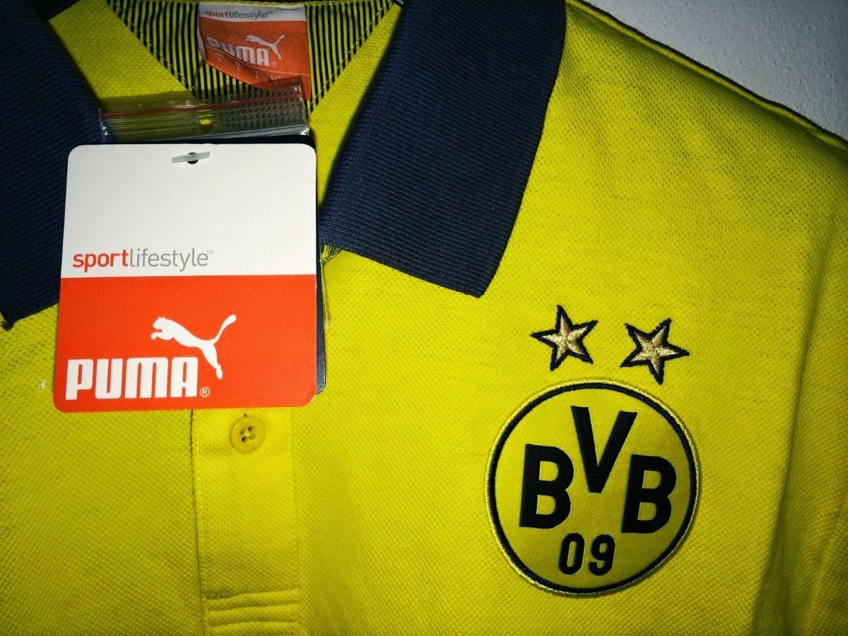 Borussia Dortmund 14-15 Soccer Polo Yellow