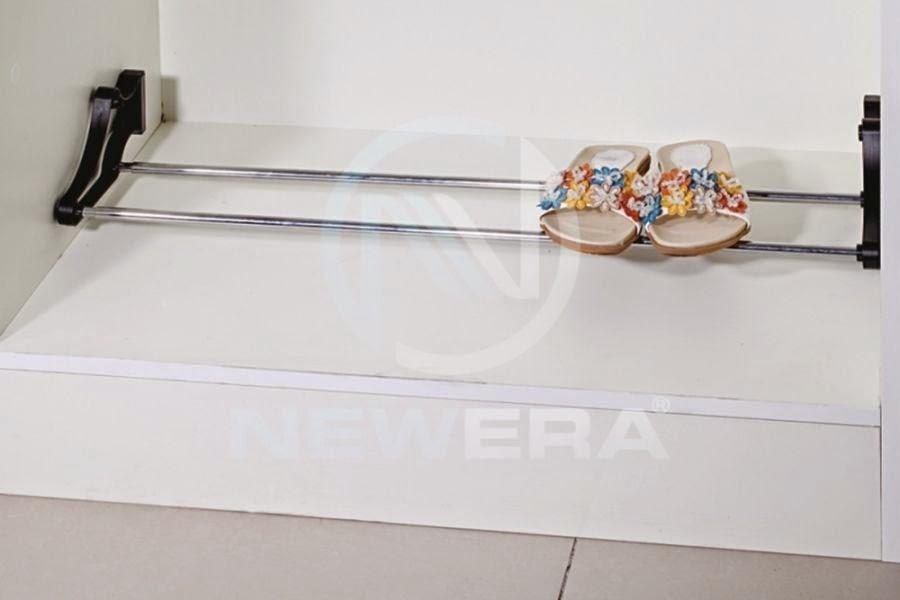 Giá để giày dép NewEra Đức rộng tối đa 700mm