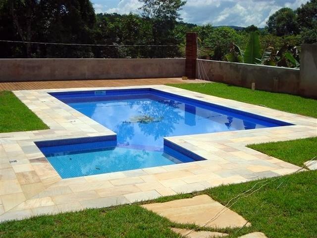 Piscinas de concreto alvenaria e azulejo piscinas de azulejo for Piscina de concreto