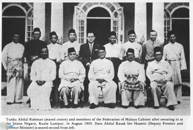 Federation of Malaya Cabinet August 1959