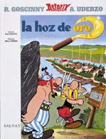Astérix la Hoz de Oro,Albert Uderzo, René Goscinny,Salvat  tienda de comics en México distrito federal, venta de comics en México df
