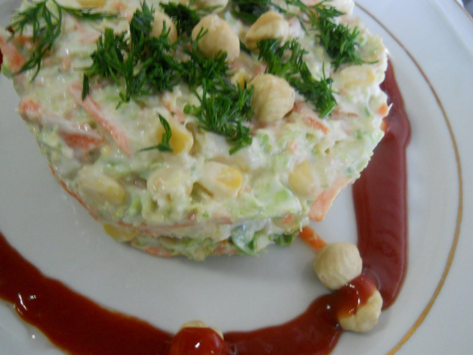 Brokoli ve Brüksel Lahanası Salatası