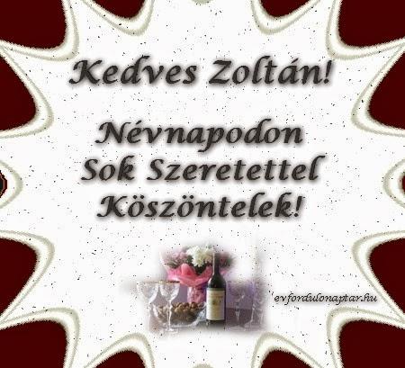 Március 8 - Zoltán névnap