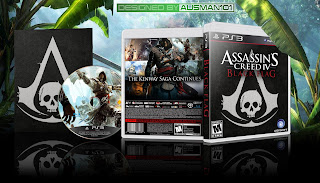 latest assassins creed black flag ps3 hd dvd cover