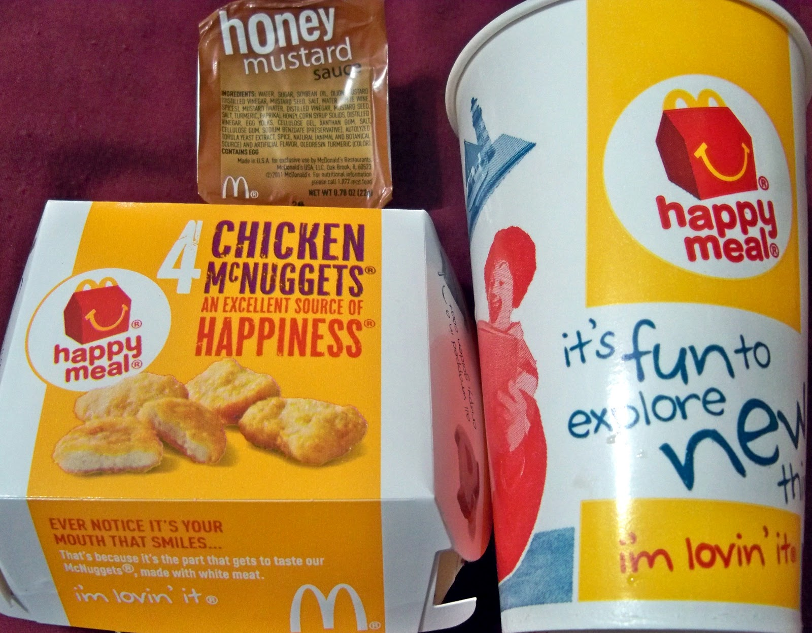 MCDONALD S HAPPY MEAL  McDonald s Fast Food Hamburger Restaurant Kid s    Mcdonalds Pizza Happy Meal