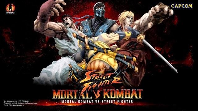 لعبة القتال الرائعة mortal kombat vs street fighter مجانا وحصريا تحميل مباشر Mortal+kombat+vs+street+fighter