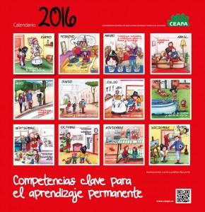 CALENDARIO 2016 PARA EL DESARROLLO DE COMPETENCIAS BÁSICAS EN FAMILIA