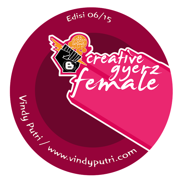 Award Gyerz Female Blogger Energy Edisi Juni 2015