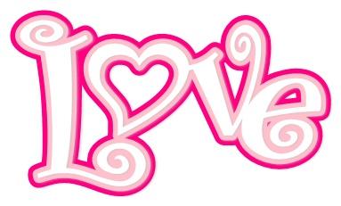 Heart Flourish X Frame And Love Word Svg
