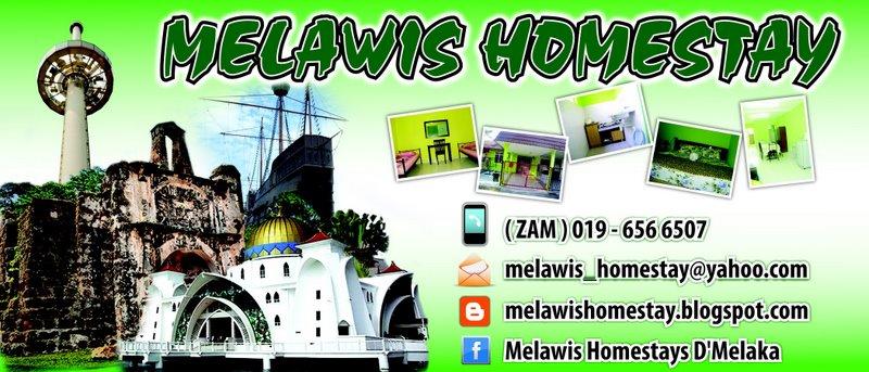 Melawis Homestay Di Bukit Beruang Melaka