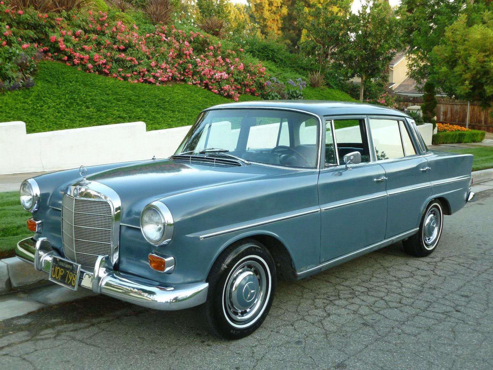 Daily Turismo 5k Ze Old School 1967 Mercedes Benz 230s W110