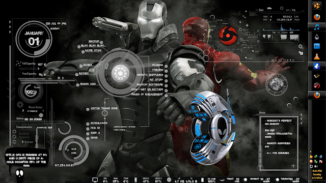 Jarvis iRon Man Skin free Download