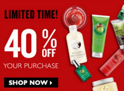 The Body Shop 40% Off Your Purchase