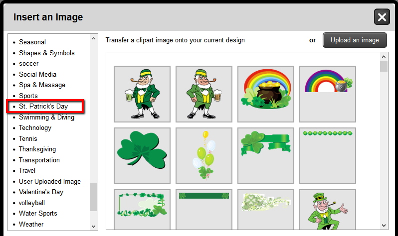 St. Patrick's Day Clip Art | Banners.com