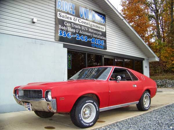 1969 amc amx for sale buy american muscle car for American muscle cars for sale