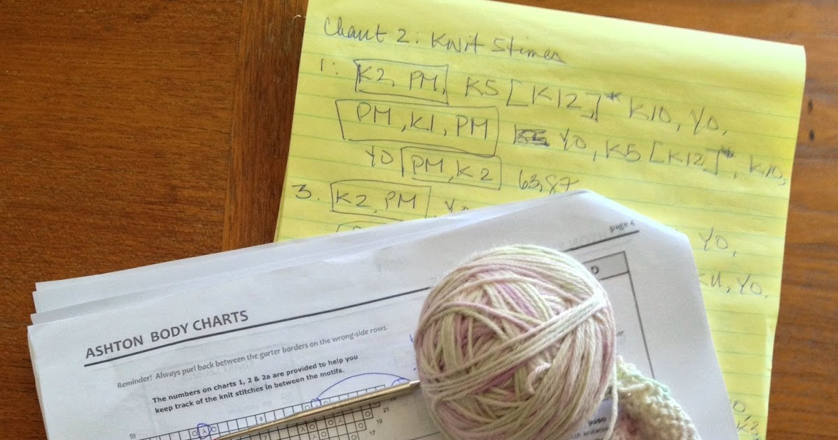 Knitted Candy: Made Time to Learn How to Read Knitting Pattern Charts - Finis...