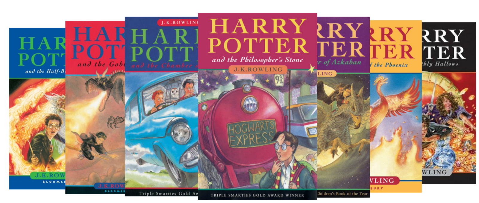 Reviews from a Bookworm: Top Ten Tuesday: Most Unique ... Harry Potter 2 Book