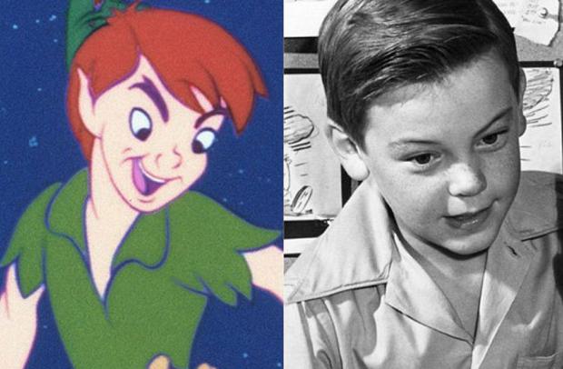 Os personagens da Disney na vida real - Peter Pan – Bobby Driscoll