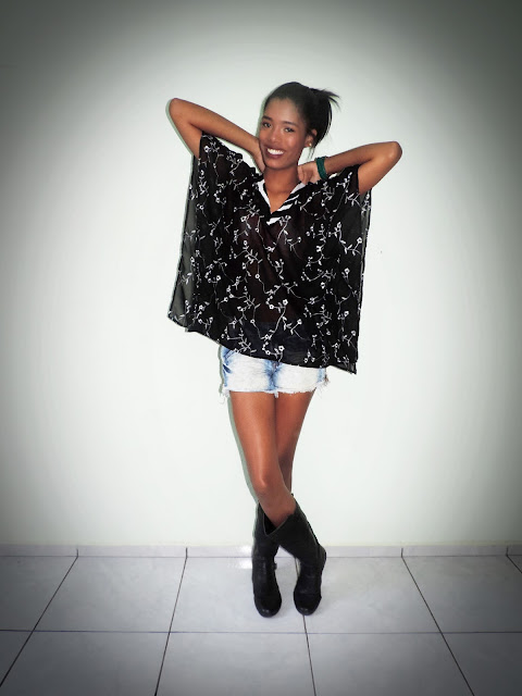 ♥ Look do Dia: Inverno x Shorts!? ♥