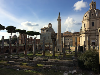 Forum de trajan et Colonne de Trajan- Rome