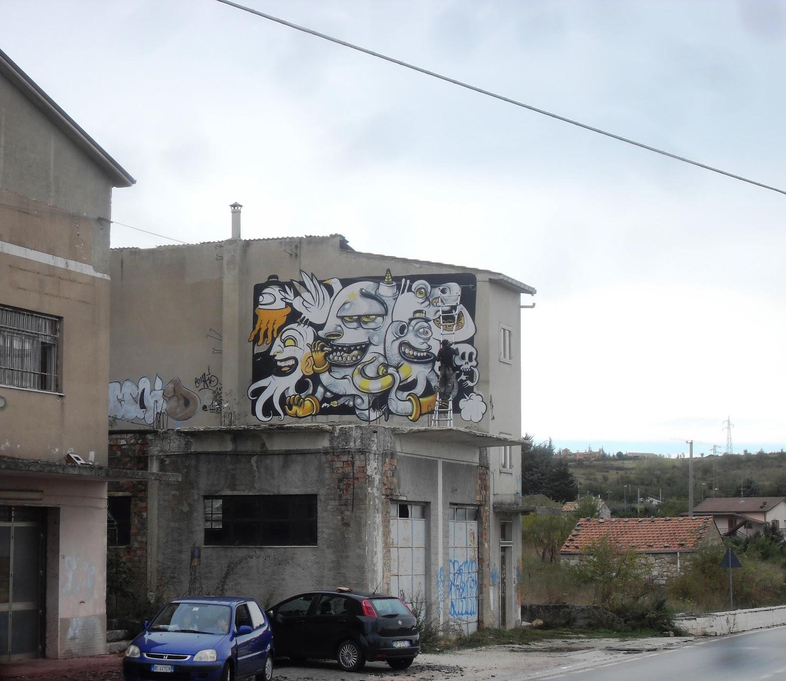 Campobasso Italy  city photos : ... streetartnews mrthoms italy Mr Thoms New Mural In Campobasso, Italy