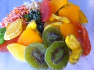 Sumber kalsium buah-buahan kering