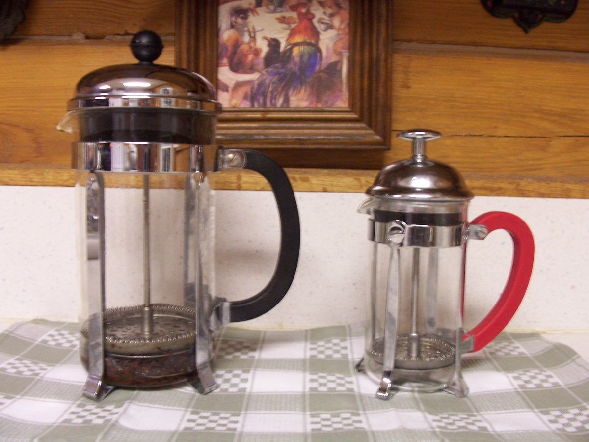 Presso Coffee Maker Non Electric Coffee Maker : Krazo Acres: Non-Electric Gadgets, Part 1