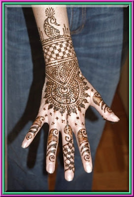 Beautiful Mehndi Design 2011 | Most Popular Mehndi Design