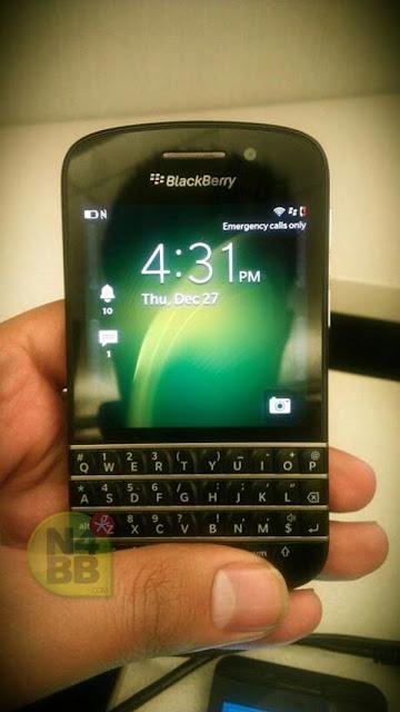 Penampakan BlackBerry X10 N-Series dengan tompol QWERTY