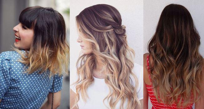 Покраска волос 2017 модные тенденции омбре на