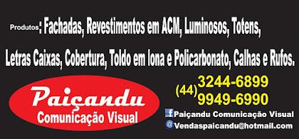 Paiçandu Comunicação Visual -  3244 6899