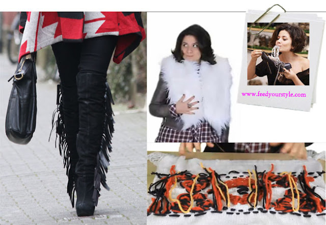 diy bloggers fashion week, isabel marant, diy, fashion DIY, feed your style,diy boots,fringe boots diy,