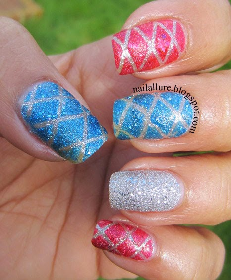 Textured Quilted Manicure