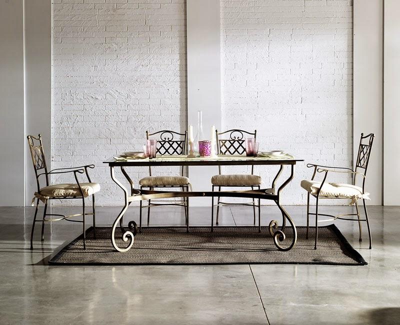 Mesa Comedor en 2 tamaños forja