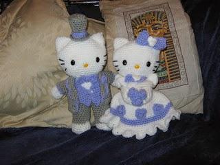 Free Amigurumi Patterns Hello Kitty : Free crochet patterns free crochet patterns bride groom dolls