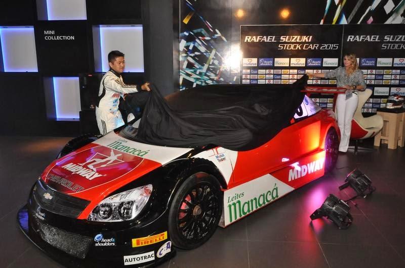 Rafael Suzuki apresenta layout de seu carro