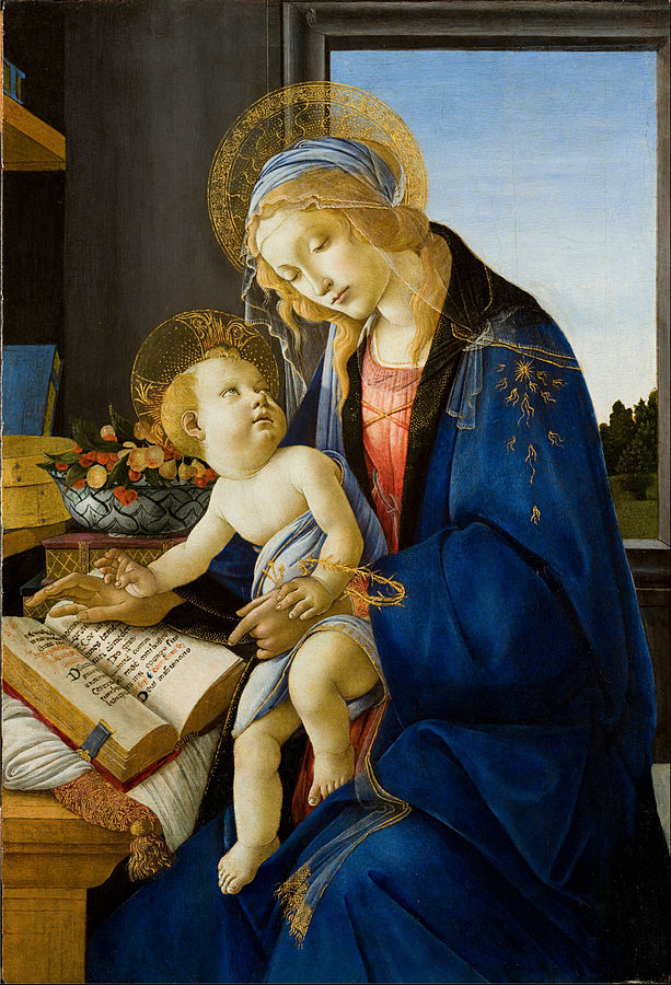 The Madonna of the Book