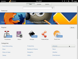 App Gnome Center, ubuntu App Gnome Center, App Gnome Center gnome 3.6