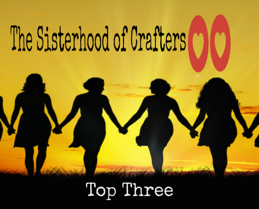 2 x The Sisterhood Of Crafters Top Three